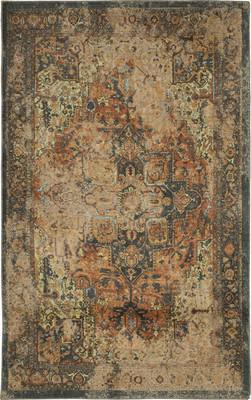 "Karastan Antiquity Hamedan Beige/Tan 10'0"" X 14'0"""