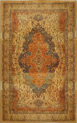 "Karastan Antiquity Bandar Orange/Rust 5'0"" X 8'0"""