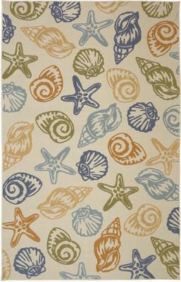 "Mohawk Woodbridge Seashells Beige/Tan 7'6""X10'0"""