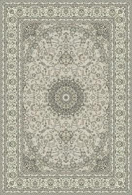"Expo Ancient Garden 57119 White/Ivory 6'7"" X 9'6"""