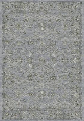 """Expo Ancient Garden 57136 Gray/Silver 5'3"""" X 7'7"""""""