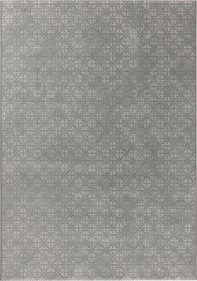 "Dynamic Lily Tur-36-Lily-dp Gray/Silver 5'3"" X 7'7"""