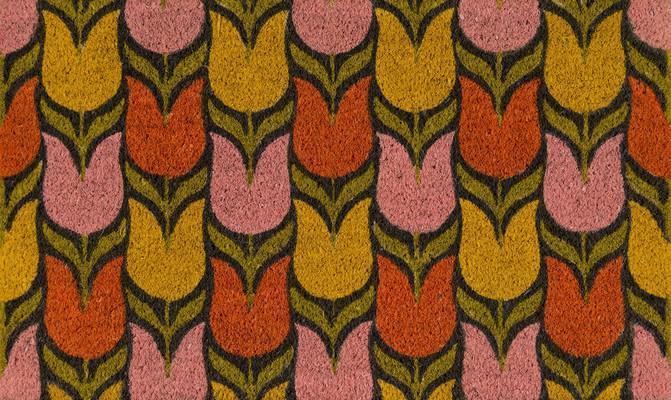 Momeni Aloha Alo18 Pink/Purple