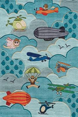 Momeni Lil Mo Whimsy Lmj10 Blue/Navy