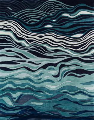 Momeni New Wave Nw144 Blue/Navy