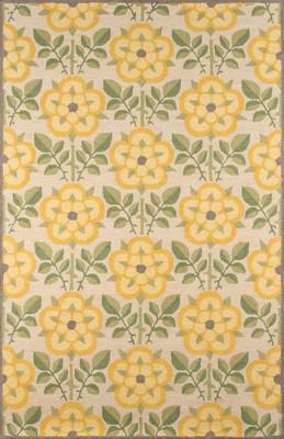 "Momeni Newport Np-07 Yellow/Gold 5'0"" X 8'0"""