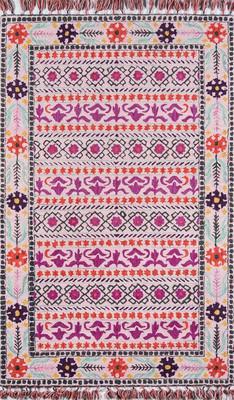 "Momeni Tahoe Ta-07 Pink/Purple 3'6"" X 5'6"""