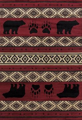 United Weavers Woodside Bear Imprint