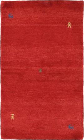 "Hand Knotted Iran Gabbeh 2'9"" x 5'3"" Red"