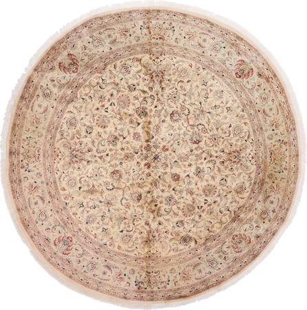 "Hand Made Pakistan Tabriz 9'11"" x 10' Beige"