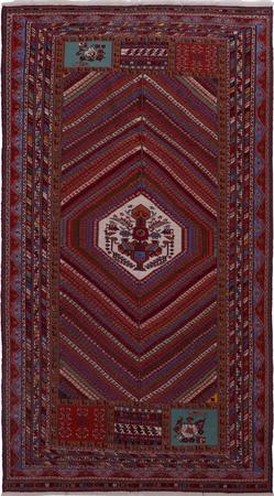 "Flat Weave Iran Soumak 5'5"" x 9'8"" Multi"