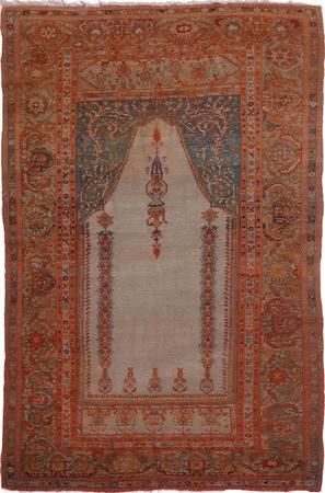 "Hand Made Iran Tabriz 2'9"" x 5' Purple LT"