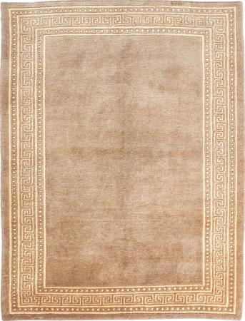 "Hand Made India Gabbeh 4'8"" x 6'2"" Tan"
