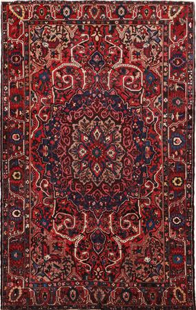 Hand Knotted Iran Bakhtiari 10' x 15' Red DK