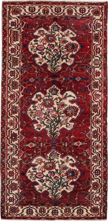 "Hand Knotted Iran Bakhtiari 5' x 10'3"" Red DK"