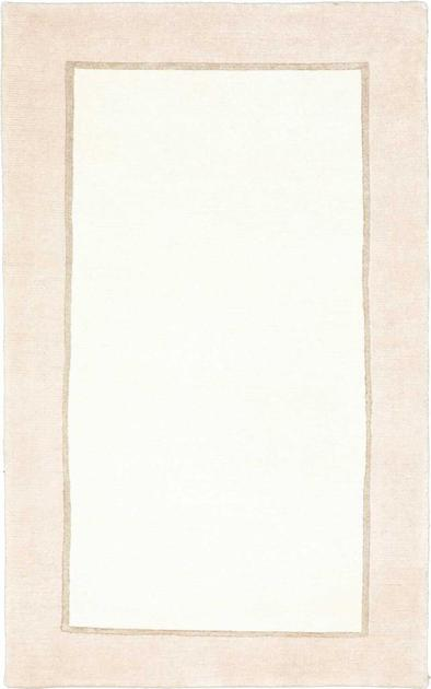 Hand Knotted India Gabbeh 3' x 5' White