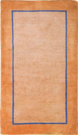 Hand Knotted Iran Gabbeh 3' x 5' Orange LT