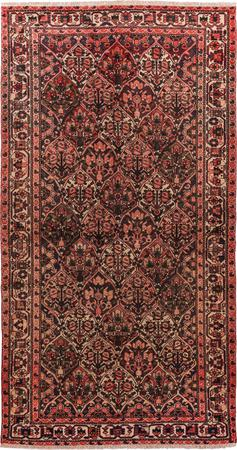 "Hand Knotted Iran Bakhtiari 5' x 9'7"" Orange LT"