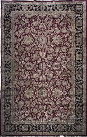 """Hand Made India Mahal 13'10"""" x 23'5"""" Red DK"""