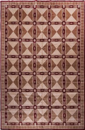 "Hand Made India Soofer 12' x 18'3"" Red DK"