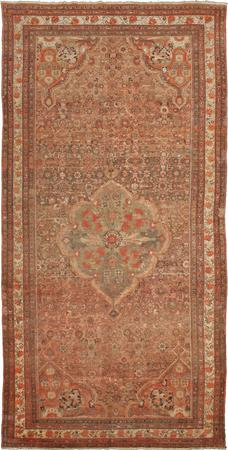 """Hand Knotted Iran Malayer 8'3"""" x 16'7"""" Brown LT"""