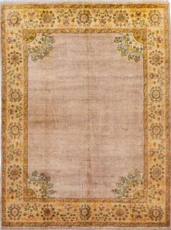 "Hand Made India Oushak 8' x 10'4"" Pink LT"