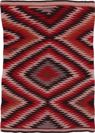 "Navajo Flat Woven United States Navajo 3'8"" x 5'7"" Multi"