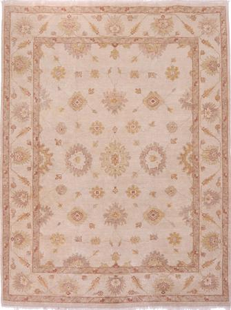 "Hand Made India Oushak 9' x 11'9"" Tan"