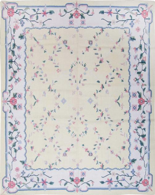 Flat Weave India Dhurrie 8' x 10' Yellow LT