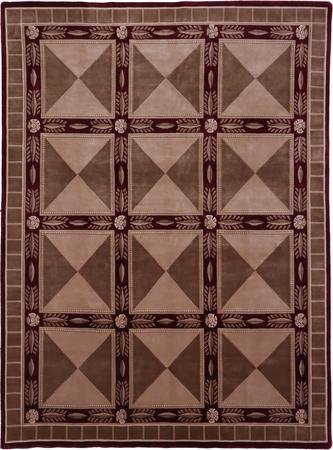 """Hand Made India Soofer 9' x 11'10"""" Red DK"""