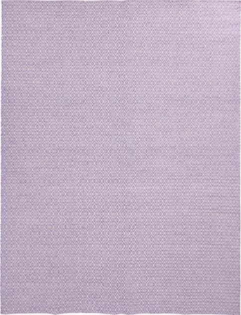 Hand Made India Dhurrie 9' x 12' Purple LT