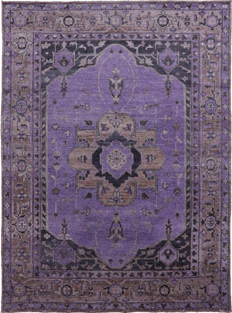 "Hand Made India Transitional 9' x 12'2"" Purple LT"