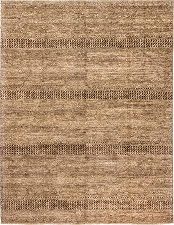 """Hand Knotted India Gabbeh 8' x 10'3"""" Brown LT"""