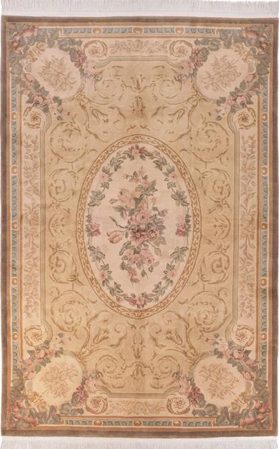 Hand Made China Aubusson 6' x 9'