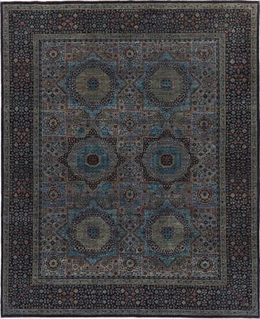 Hand Made Pakistan Mamluk 8' x 9'11