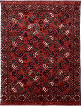"Hand Made Afghanistan Turkoman 9'11"" x 12'11"" Rust"