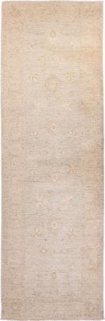 "Hand Made Afghanistan Peshawar 3' x 9'11"" Gray"