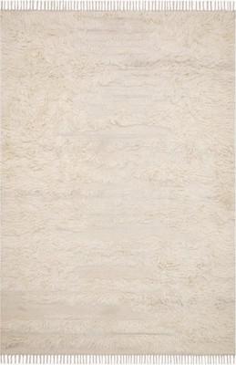 "Loloi Abbot Abb-04 White/Ivory 7'9"" X 9'9"""