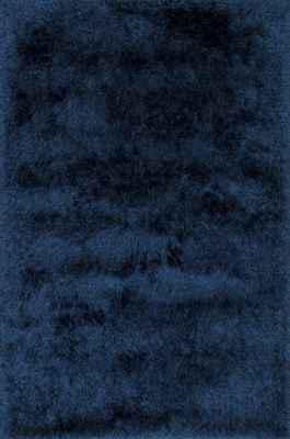 "Loloi Allure Shag Aq-01 Blue/Navy 3'6"" X 5'6"""