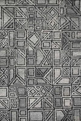 "Loloi Artesia Art-01 Gray/Silver 3'6"" X 5'6"""