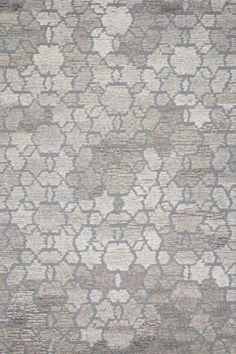 "Loloi Artesia Art-02 Gray/Silver 5'0"" X 7'6"""