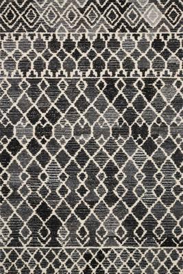 "Loloi Artesia Art-04 Gray/Silver 7'9"" X 9'9"""