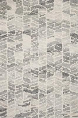 "Loloi Artesia Art-05 Gray/Silver 5'0"" X 7'6"""