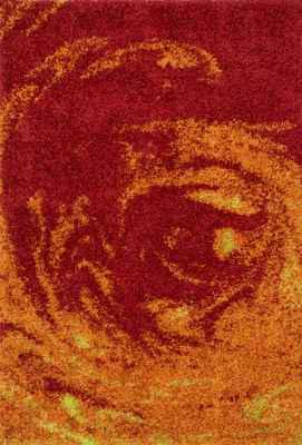 Loloi Barcelona Shag Bs-02 Red/Burgundy