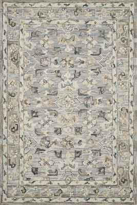 Loloi Beatty Bea-04 Gray/Silver