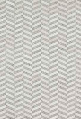 """Loloi Dorado Db-01 Gray/Silver 5'0"""" X 7'6"""""""