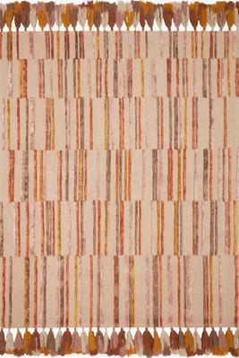 """Loloi Jamila Jaa-02 Orange/Rust 7'9""""X9'9"""""""
