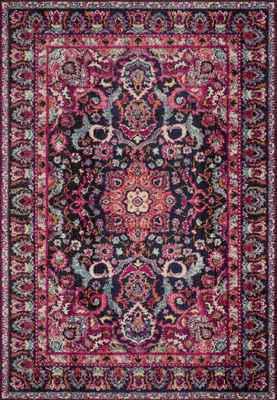 """Loloi Nadia Nn-06 Pink/Purple 4'0"""" X 5'7"""""""