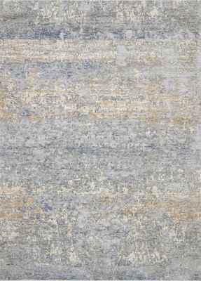 "Loloi Pandora Pan-05 Gray/Silver 5'0"" X 8'0"""