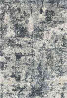 "Loloi Quincy Qc-06 Gray/Silver 3'3"" X 6'0"""